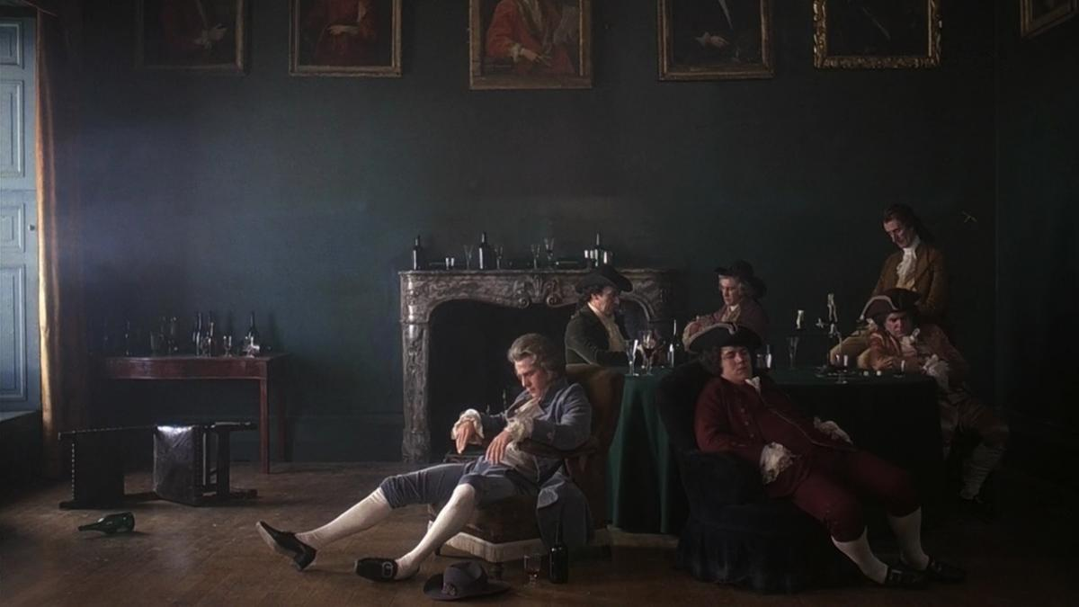 A film still from director Stanley Kubrick's Barry Lyndon