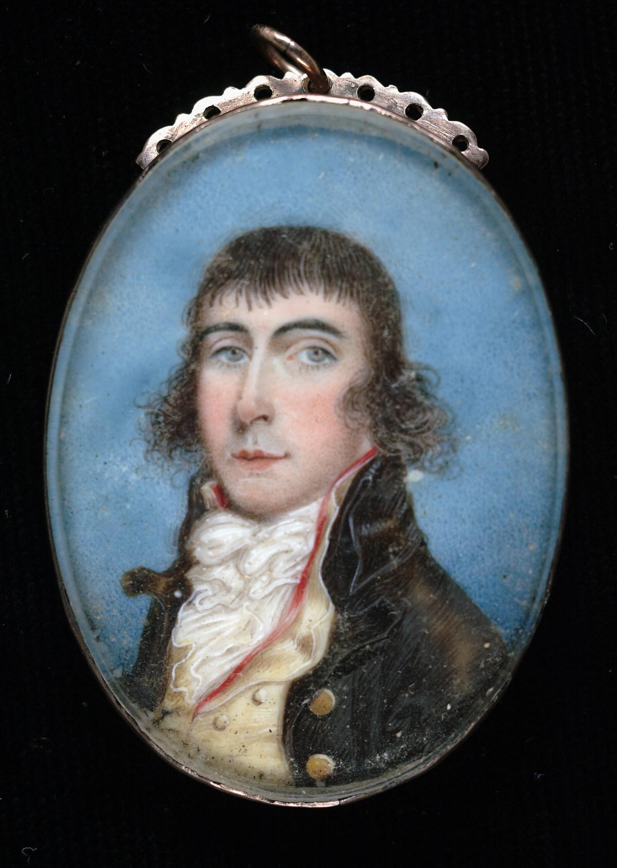 A painting of William Boswell Lamb