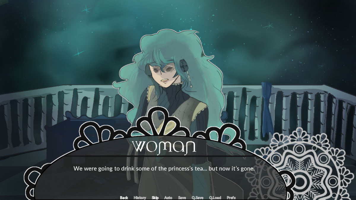 A screen capture of a video game