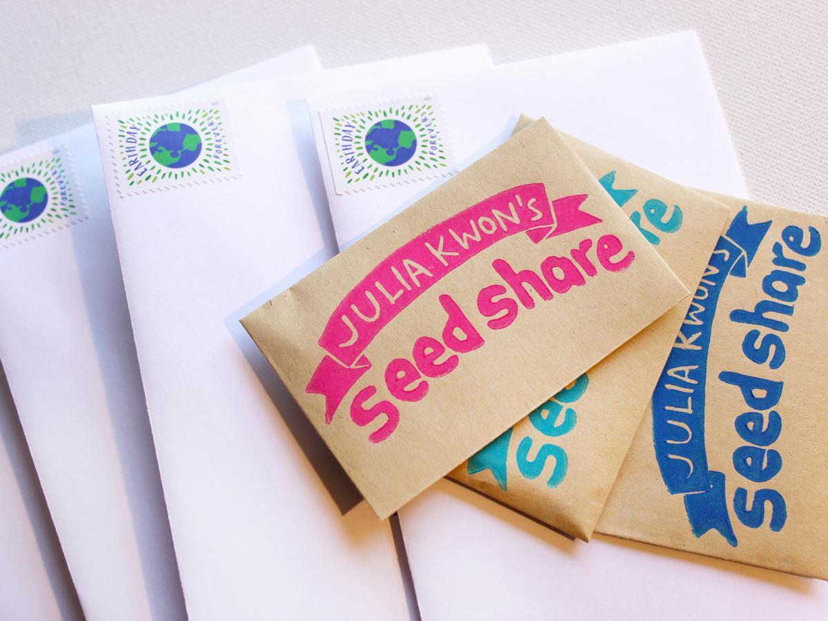 A photograph of envelopes