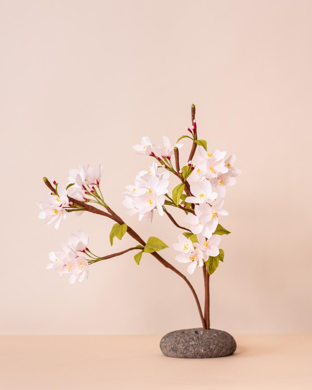Photo of Paper Chery Blossom branch.