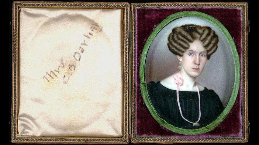 A painting of Mrs. Charles Boynton Darling.