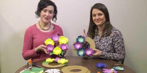 Thumbnail - Handi Hour - Paper Wreaths