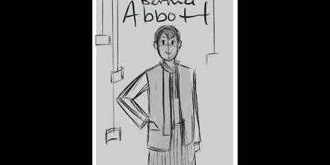Thumbnail - Time-lapse of Creating Picturing a City: A Comic About Berenice Abbott