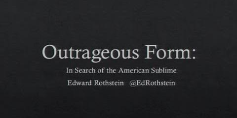 Thumbnail - Clarice Smith Distinguished Lecture: Edward Rothstein