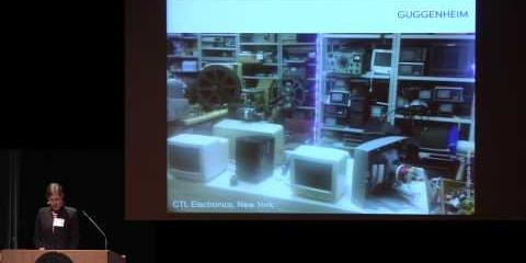 Thumbnail - Conserving and Exhibiting the Works of Nam June Paik Symposium: Lecture with Conservator Joanna Phillips