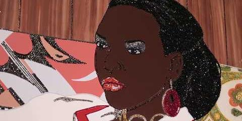 "Thumbnail - Meet The Artist: Mickalene Thomas on ""Portrait of Mnonja"""