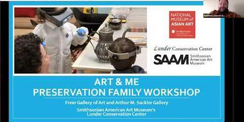 Thumbnail - Art & Me Preservation Family Workshop | Unlocking Secrets of the Past