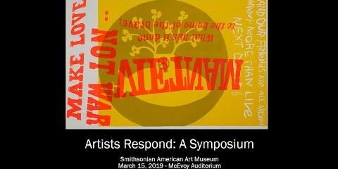 Thumbnail - Artist Respond: A Symposium - Morning Session