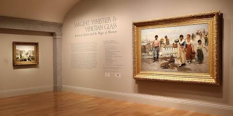 """Thumbnail - """"Sargent, Whistler, and Venetian Glass: American Artists and the Magic of Murano"""" Introduction"""