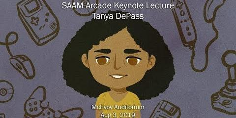 Thumbnail - Tayna DePass Keynote Lecture for SAAM Arcade