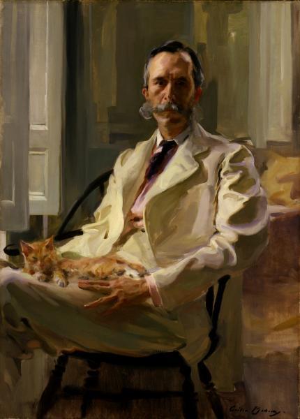 """Résultat de recherche d'images pour """"portrait gallery washington dc museum man cat"""""""