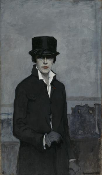Image result for self portrait 1923 by romaine brooks