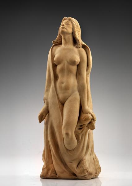 Female nude figure