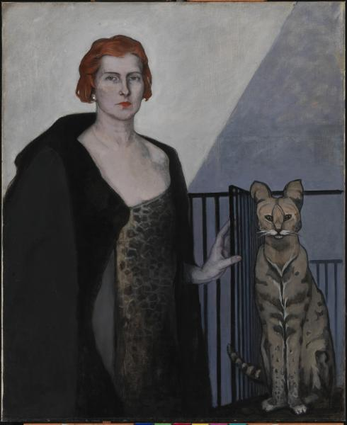Image result for Baroness d'Erlanger by romaine brooks