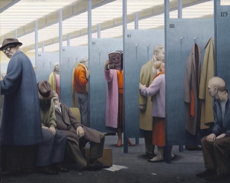 The Waiting Room | Smithsonian American Art Museum
