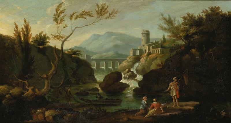 Classic Landscape of I. Cafieri,oil paintings online