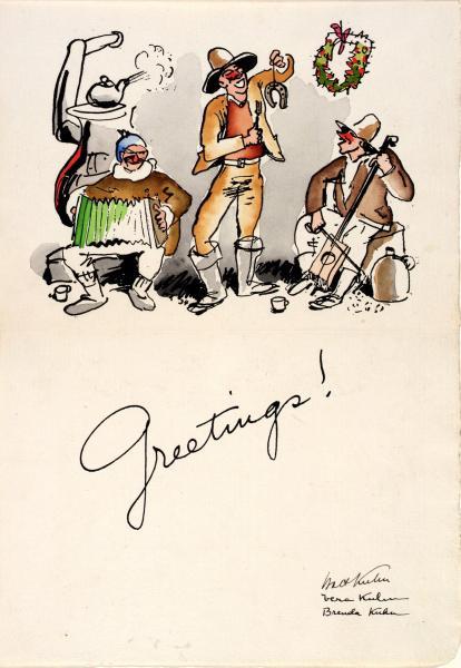 christmas greetings 1934  smithsonian american art museum