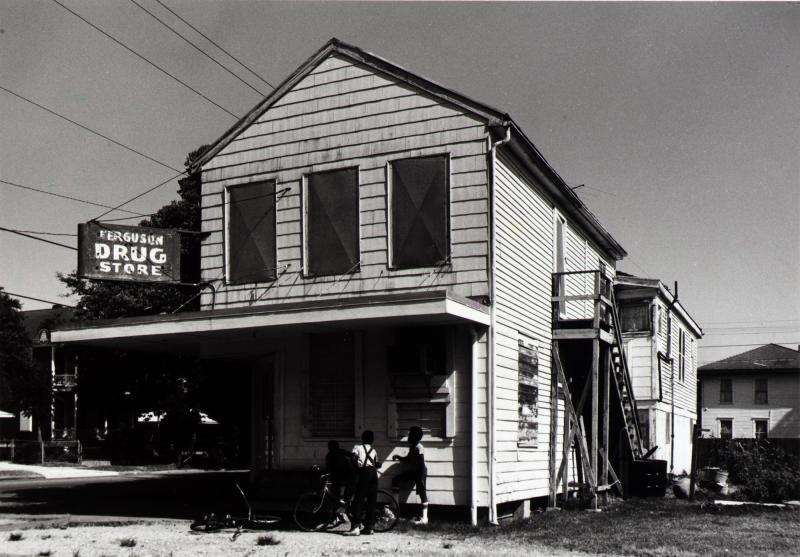Ferguson Drug Store (now closed), 1218 35th, Galveston, Texas, from