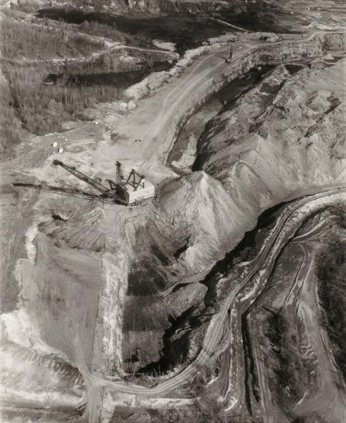 Overview of a Surface Mine at Paradise, Muhlenburg County Ky   Smithsonian  American Art Museum