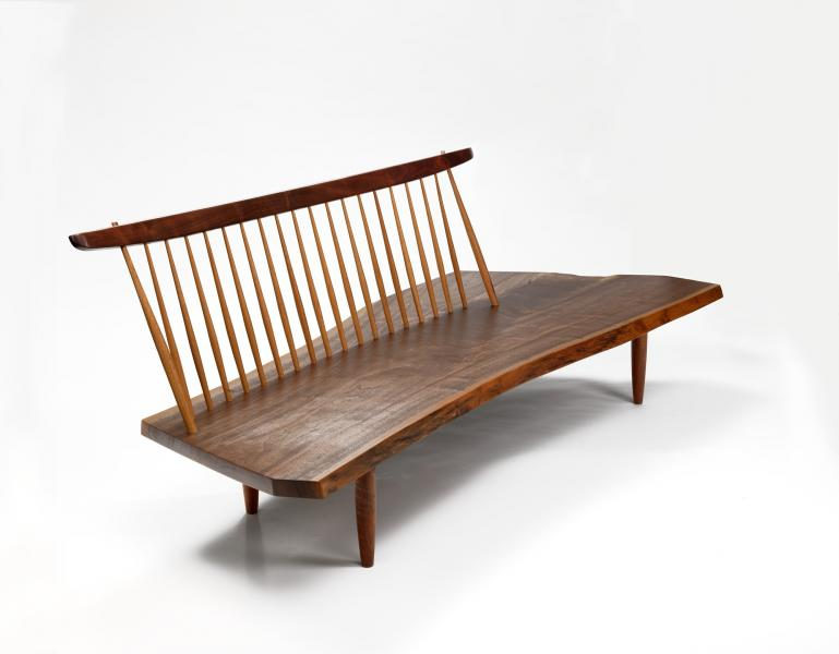 Awesome Conoid Bench Smithsonian American Art Museum Lamtechconsult Wood Chair Design Ideas Lamtechconsultcom