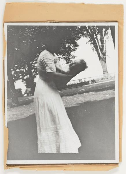 Untitled (Joseph Cornell's mother holding sister Elizabeth