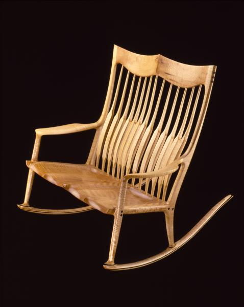 Swell Double Rocking Chair Smithsonian American Art Museum Onthecornerstone Fun Painted Chair Ideas Images Onthecornerstoneorg