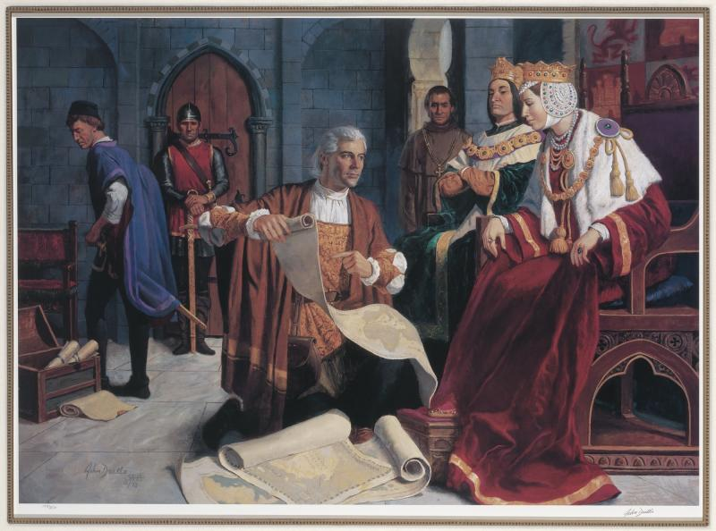 Christopher Columbus And Queen Isabella Smithsonian