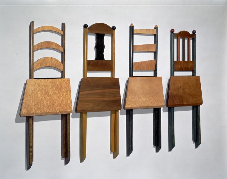 Folding Wall Chairs | Smithsonian American Art Museum