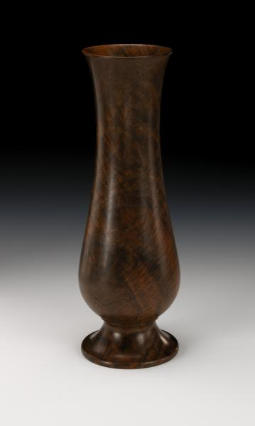 Turned Wood Vase Smithsonian American Art Museum