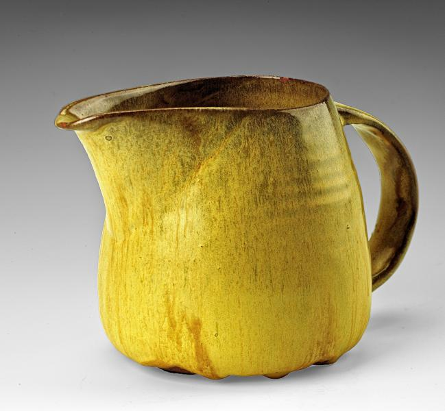 Creamer From The Yellow Luncheon Service For Six Smithsonian