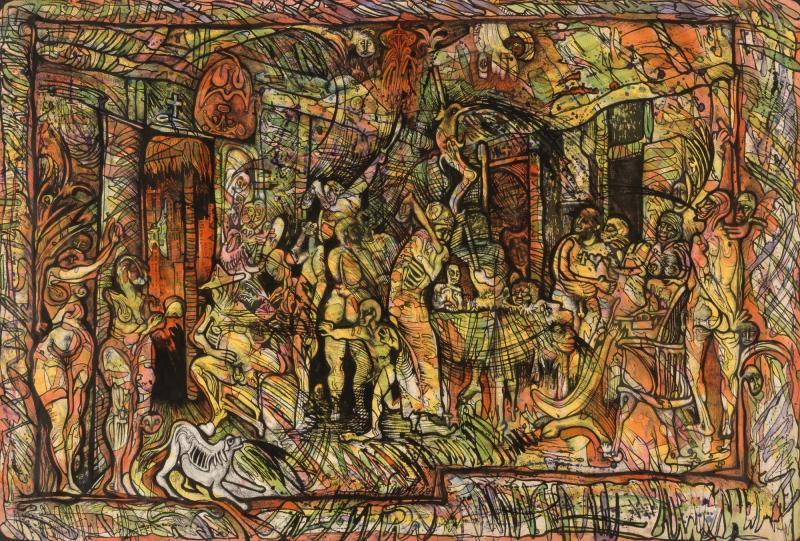 el velorio de oller en nueva york smithsonian american art museum