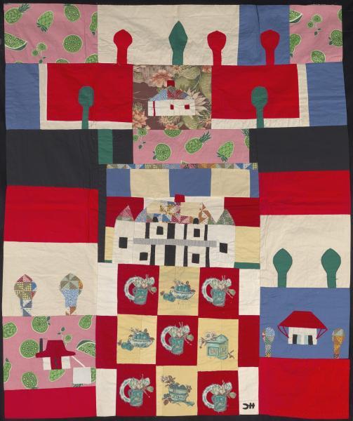 Melrose Quilt Smithsonian American Art Museum