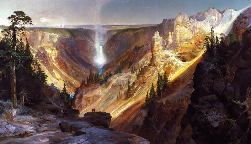 The Grand Canyon of the Yellowstone | Smithsonian American