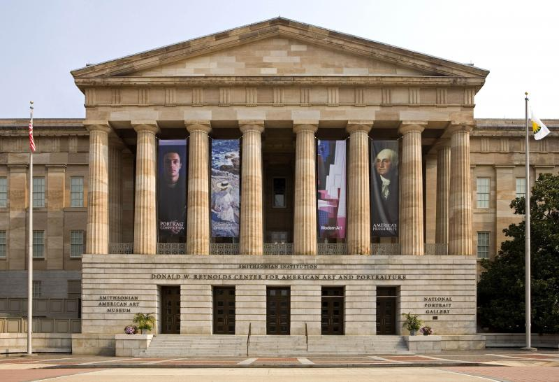 South Entrance, Smithsonian American Art Museum and National Portrait Gallery (1 of 18)