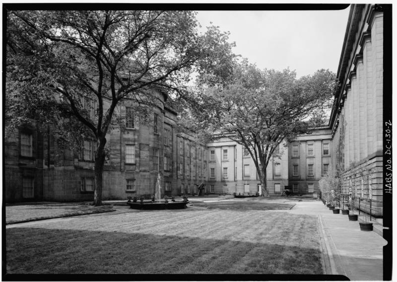 Patent Office Building Courtyard, circa 1990 (15 of 18)