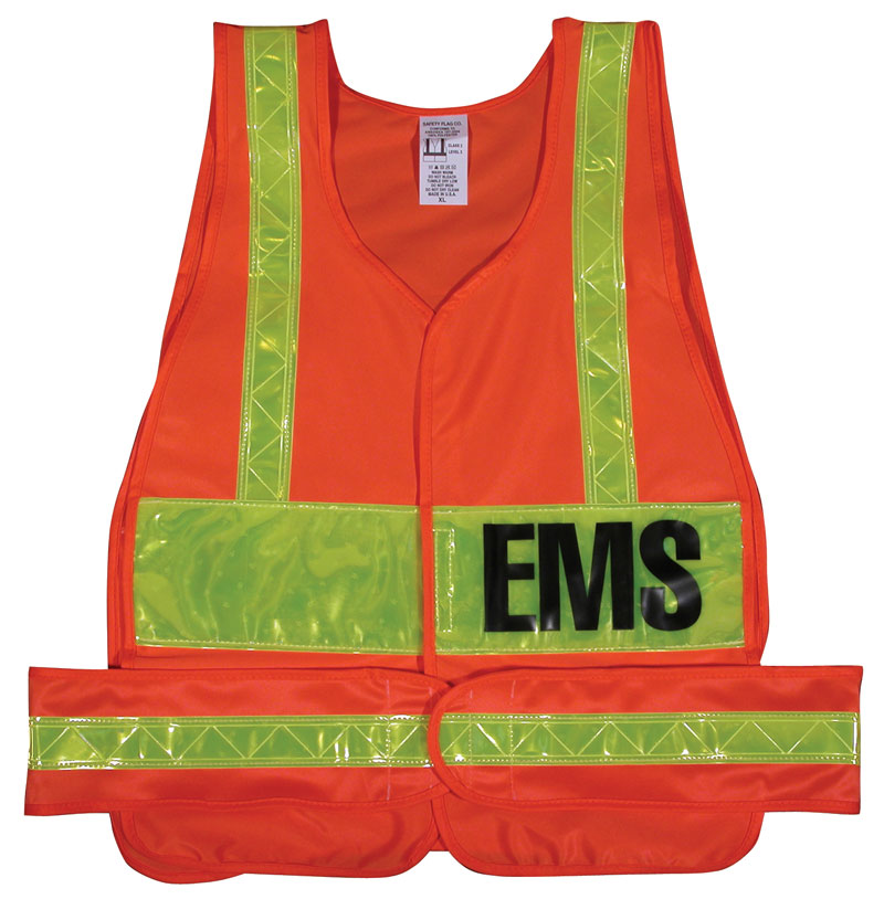 Class 2 Vests with Lime Yellow Stripes & Lime Yellow Patch