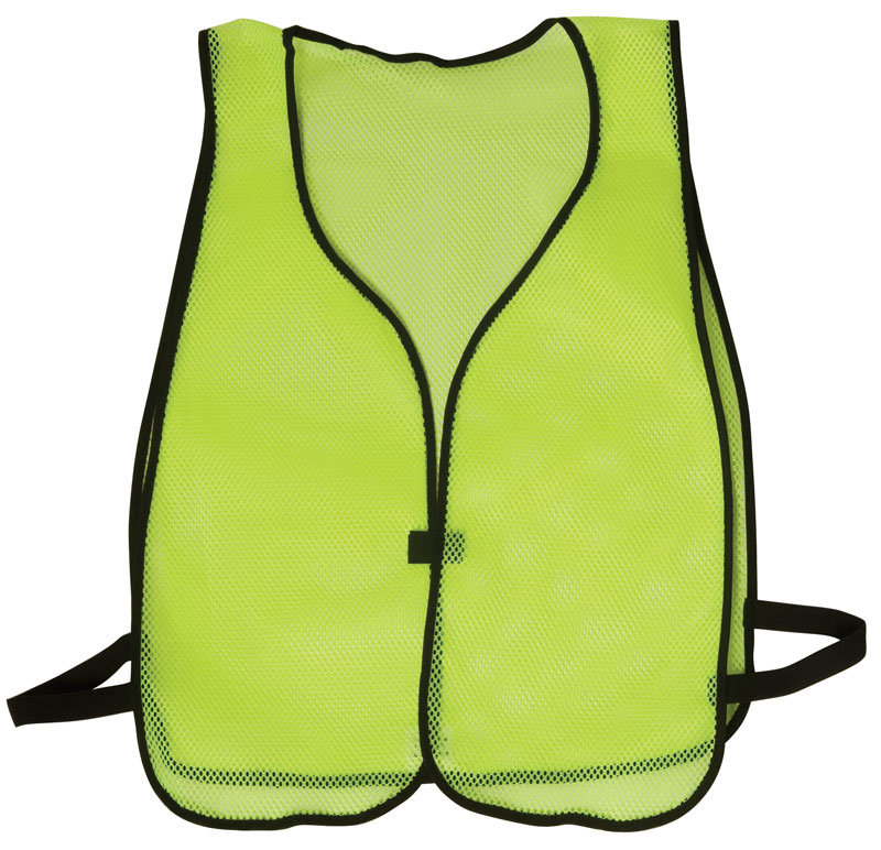 Vests - Economy Style 100% Polyester Mesh