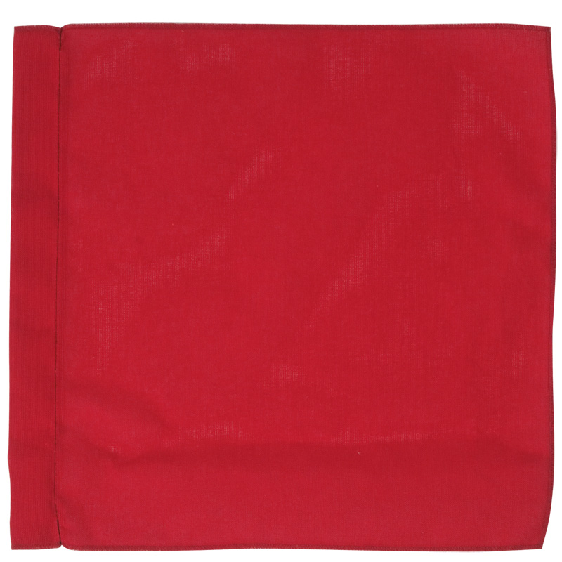 Large Deep Red Cloth Flags