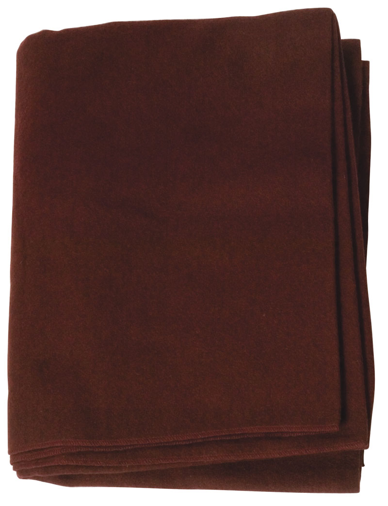 Deep Burgundy Emergency Fire Blanket For Safety Gear