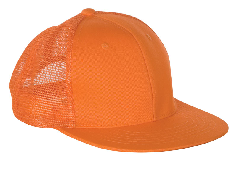 Orange Mesh Safety Clothing Baseball Cap