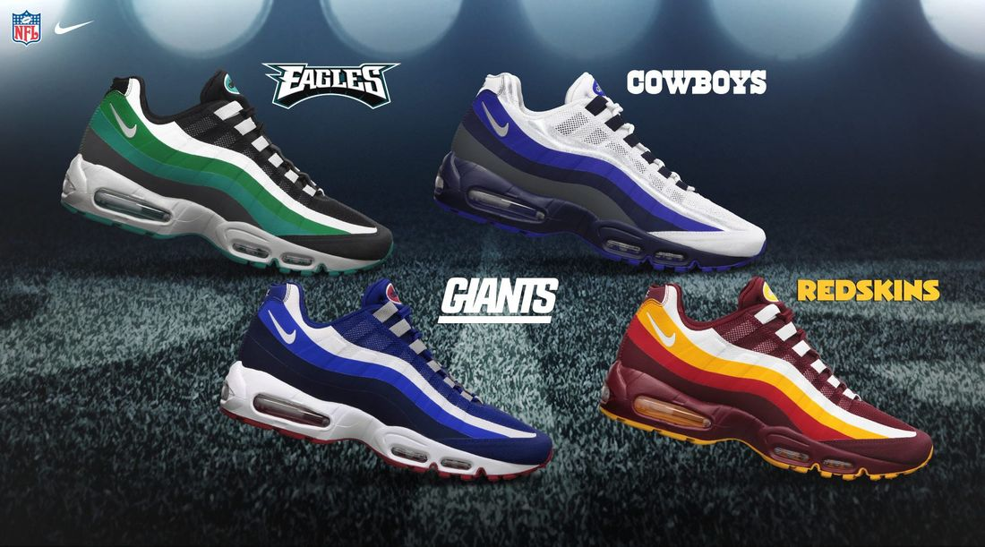 Nike Custom Nfl Team Shoes