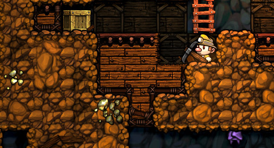 spelunky review digging deep polygon