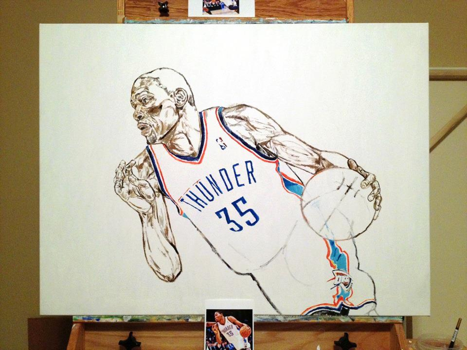 Kevin Durant Shoes Coloring Pages