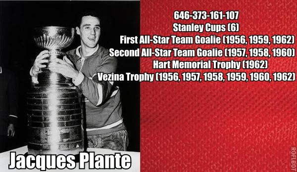 Jacques Plante: A Habs Centennial Dream Team