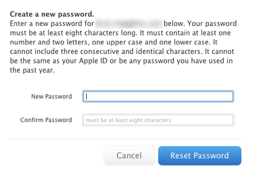 major security hole allows apple passwords to be reset with only