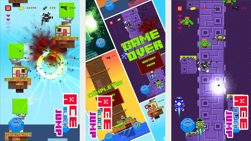 Fez And Minecraft Assets Swiped By Ios Game Ace Block Jump Polygon