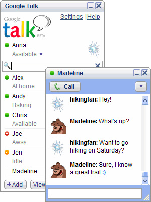 Google talk the app