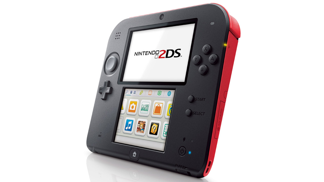 here s how the nintendo 2ds compares to the 3ds polygon