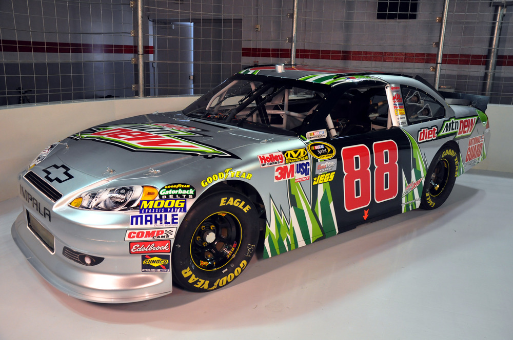 Dale Earnhardt Jr New Car Design